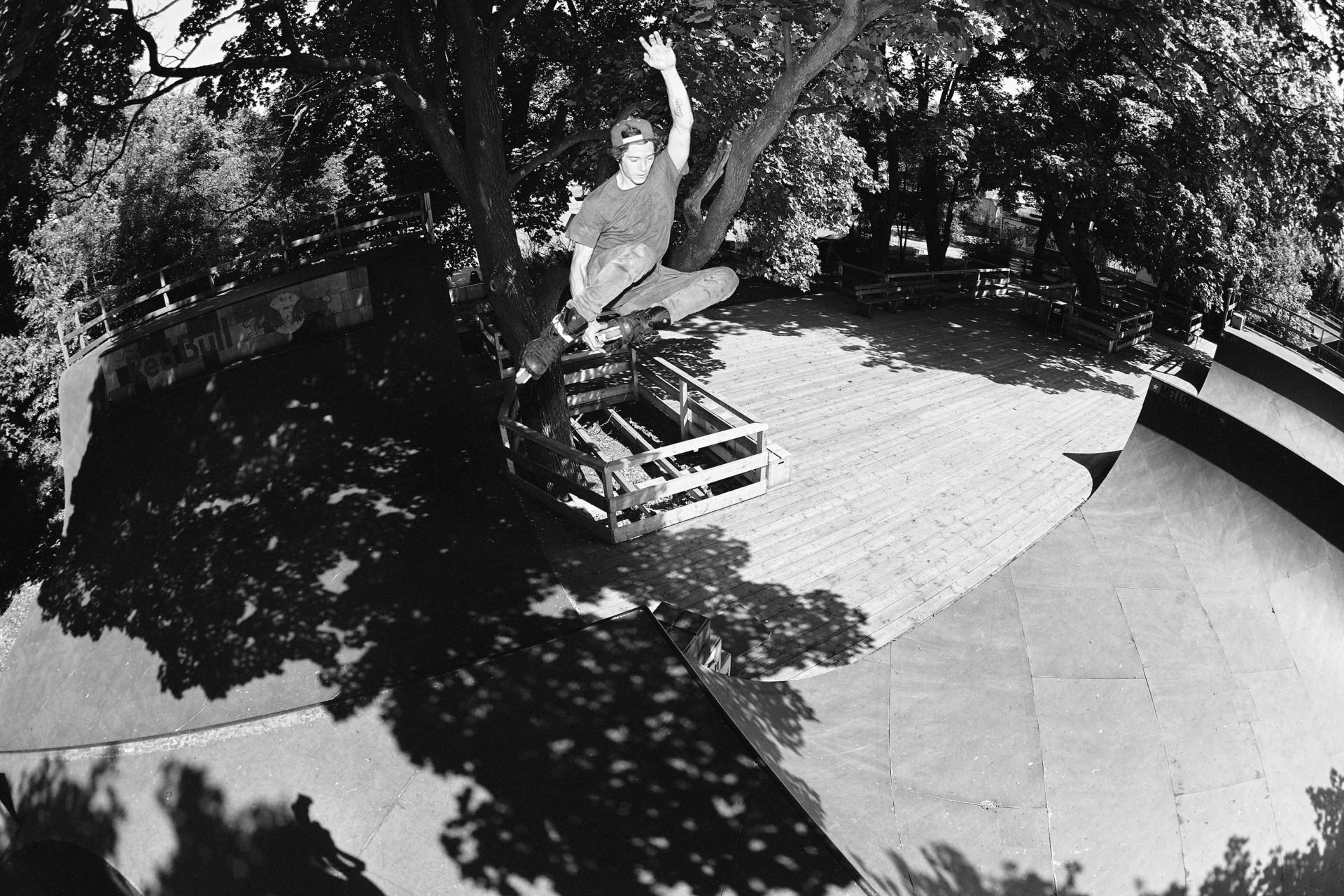 Felix Strosetzki - Photography Rollerblading